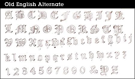 Tonight Is Last Night For Alternate >> Old English Alternate Update One Eddie B S Blog